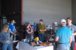 BBQ at the hangar